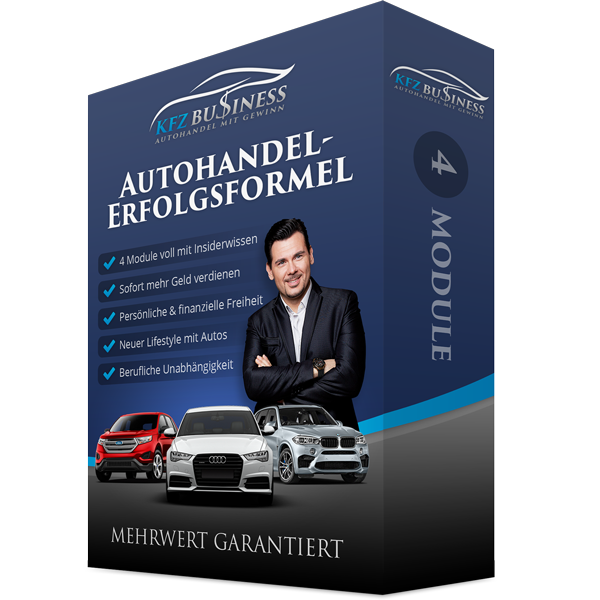 Autohandel-Erfolgsformel